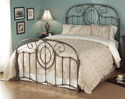 e43b4a9c4375 Wesley Allen Adair Iron Bed  Western Passion