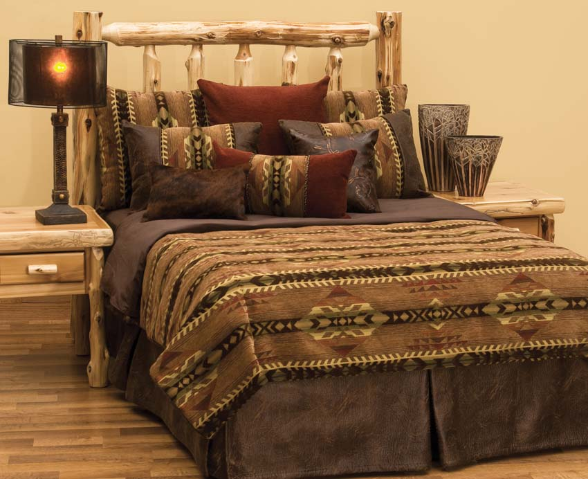 Southwest Bedding Sets Crestwood Lodge Bedding Collection Cabin Place Adele By C F Quilts