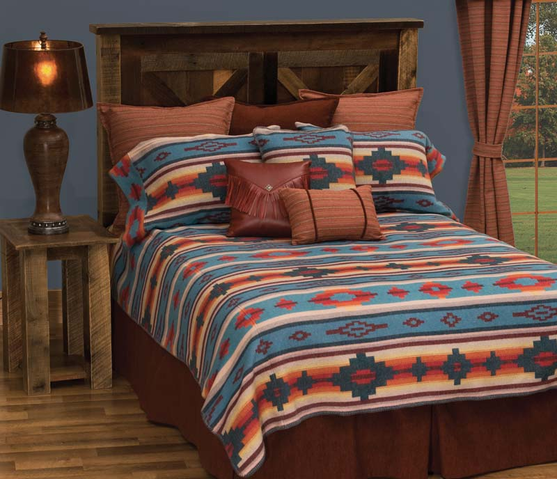 Crystal Creek Bedspread Western Passion