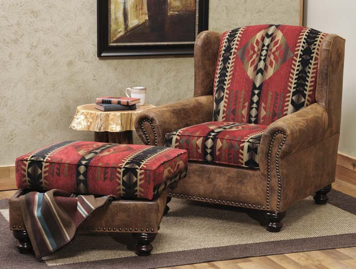 Rambler Western Chair Western Accent Chairs Free Shipping