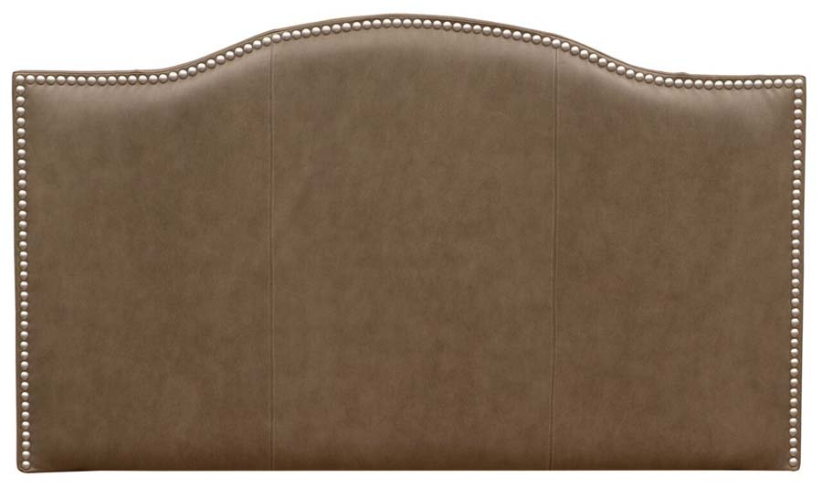 Wooded River Serenity Leather Headboard Western Passion