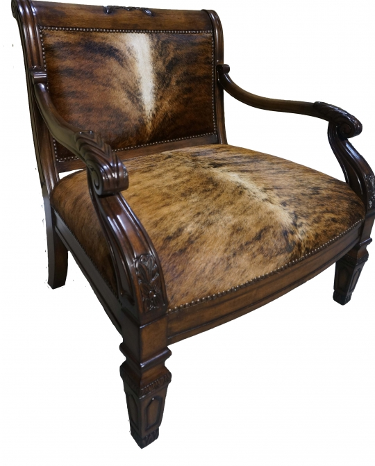 Brazilian Cowhide Accent Chair