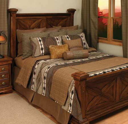Apache western bedding set western passion for Western style beds