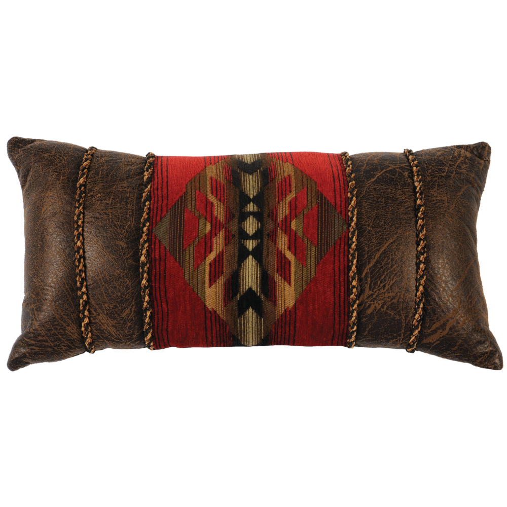 Wooded River Decorative Gallop Accent Pillow Western Passion