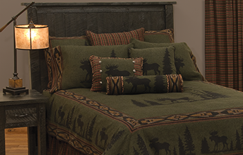 lodge and cabin bedding - Western Bedding